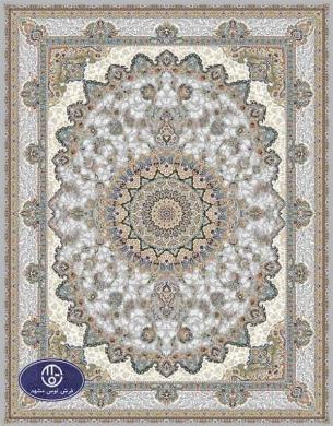 فرش گل برجسته1000 شانه،توس مشهد،فیلی 8011