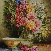 لوحة الیدویة الجمیلة الکبیرة الملونة