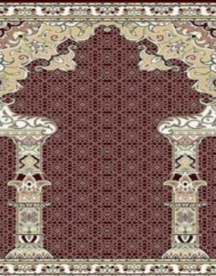 فرش سجاده ای طرح الیا لاکی - 02