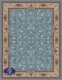 فرش 1000 شانه طرح افشان,توس مشهد,آبی