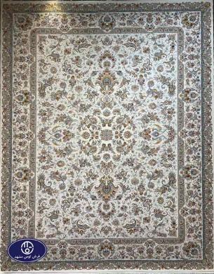 فرش1200 شانه طرح رقصان کرم , توس مشهد