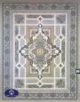 فرش1200 شانه طرح خزان بژ , توس مشهد