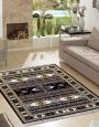 فرش مدرن,700 شانه طرح M08،توس مشهد,سورمه ای1