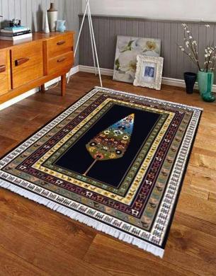 فرش مدرن,700 شانه طرح M10،توس مشهد,سورمه ای1