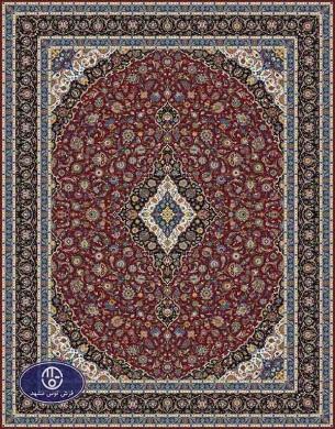 فرش ماشینی هزار شانه تراکم 3000 طرح کاشان,توس مشهد,لاکی1