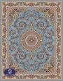 فرش ماشینی 1000 شانه تراکم 3000 طرح پاکرخ,توس مشهد,آبی
