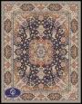 فرش ماشینی 1000 شانه طرح پرستش,فرش توس مشهد,سورمه ای