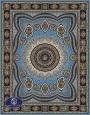 فرش هزار شانه تراکم 3000 طرح پریا,توس مشهد,آبی
