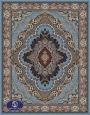 فرش ماشینی 1000 شانه طرح پاشا,توس مشهد,آبی فیروزه ای