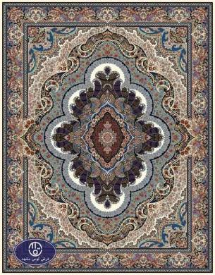 فرش ماشینی 1000 شانه طرح پاشا,توس مشهد,کرم