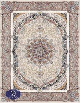 فرش 1500 شانه کد 1516, توس مشهد,کرم
