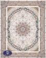فرش 1500 شانه کد 1516, توس مشهد,سفید