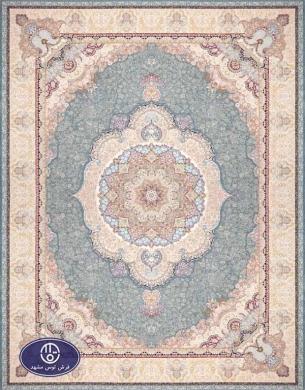 فرش 1500 شانه کد 1520,توس مشهد,آبی