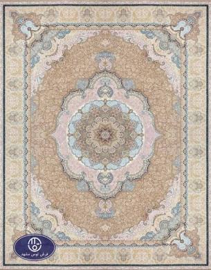 فرش 1500 شانه کد 1520,توس مشهد,ترمه ای