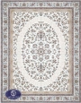 فرش 1500 شانه کد 1526 توس مشهد,سفید