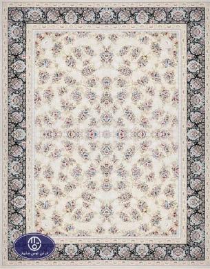 فرش 1500 شانه کد 1534 فرش توس مشهد,کرم
