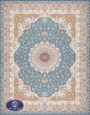 فرش 1500 شانه کد 1539 توس مشهد,آبی