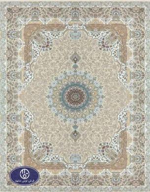 فرش 1500 شانه کد 1539 توس مشهد,کرم