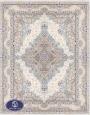 فرش 1500 شانه کد 1540 توس مشهد,سفید