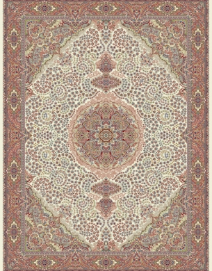 700reeds machine made carpet, Gelare pattern, cream