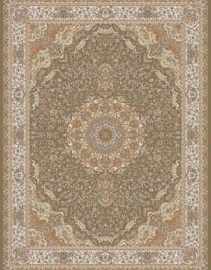 700reeds machine made carpet, Gita pattern, brown