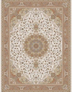 700reeds machine made carpet, Gita pattern, cream