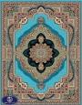 فرش 700 شانه طرح باغ معلق, توس مشهد , آبی