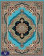 فرش ارزان 700 شانه کد 6016,توس مشهد,آبی