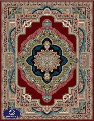 فرش 700 شانه طرح باغ معلق, توس مشهد , لاکی