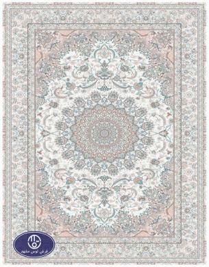 فرش 1200 شانه کد 1224,توس مشهد,کرم