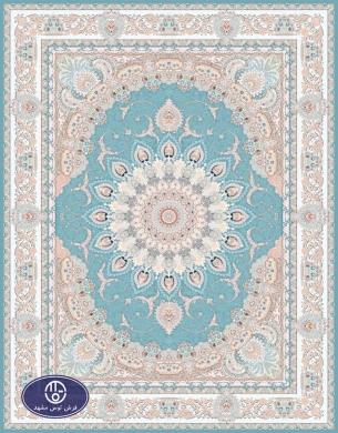 فرش 1200 شانه کد 1227,توس مشهد,آبی