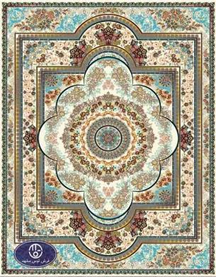 فرش 700 شانه ارزان کد 6032,توس مشهد,کرم