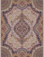 700reeds machine made carpet, Shah Sanam pattern. code:7024. cream