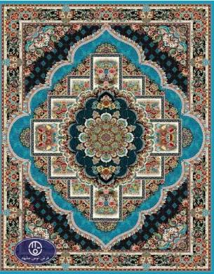 فرش ارزان 700 شانه کد 6046,توس مشهد,آبی