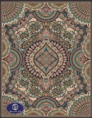 فرش ارزان 700 شانه کد 6026,j,توس مشهد,سورمه ای