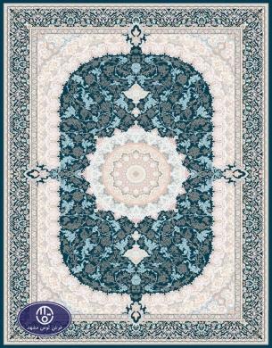 فرش 1200 شانه کد 1232,توس مشهد,سورمه ای
