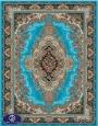 فرش ارزان 700 شانه کد 6014,توس مشهد,آبی