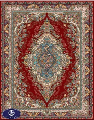 فرش ارزان 700 شانه کد 6014,توس مشهد,لاکی