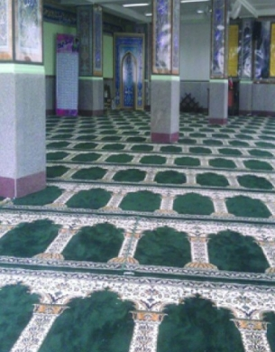 فرش سجاده ای طرح زهره -01