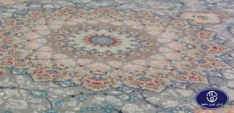فرش گل برجسته تکنولوژی جدید در صنعت فرش ماشینی