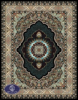 فرش ماشینی 700 شانه شایلین کد 7083