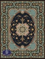 فرش 700 شانه  طرح شینا سرمه ای توس مشهد