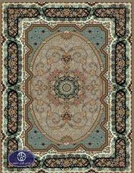 فرش 700 شانه  طرح شینا شکلاتی توس مشهد