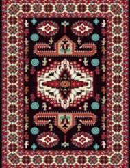 Machine made carpet, tribal pattern, code AB082