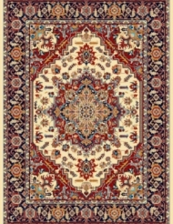 Machine made carpet, tribal pattern, code AB085