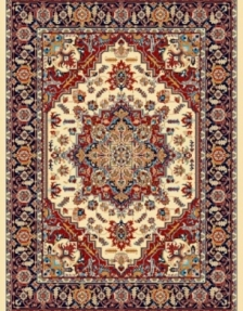 Machine made carpet, tribal pattern, code AB085