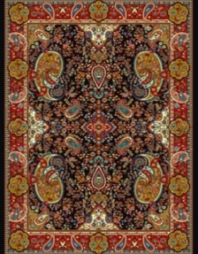Machine made carpet, tribal pattern, code AB086