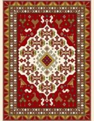 Machine made carpet, tribal pattern, code AB088