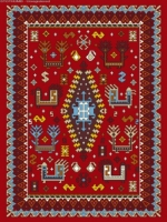 فرش عشایری کد AB089