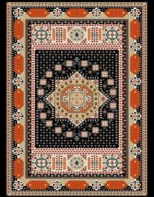فرش عشایری کد AB093